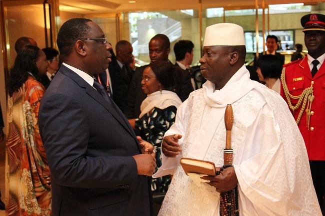 Macky et Jammeh