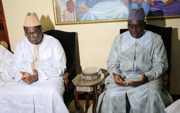 Ousmane Ngom et Macky Sall