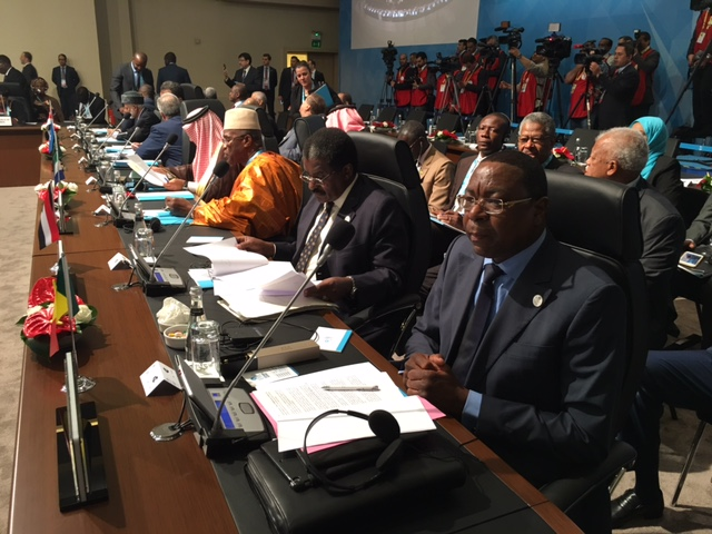 Allocution du Ministre Mankeur Ndiaye