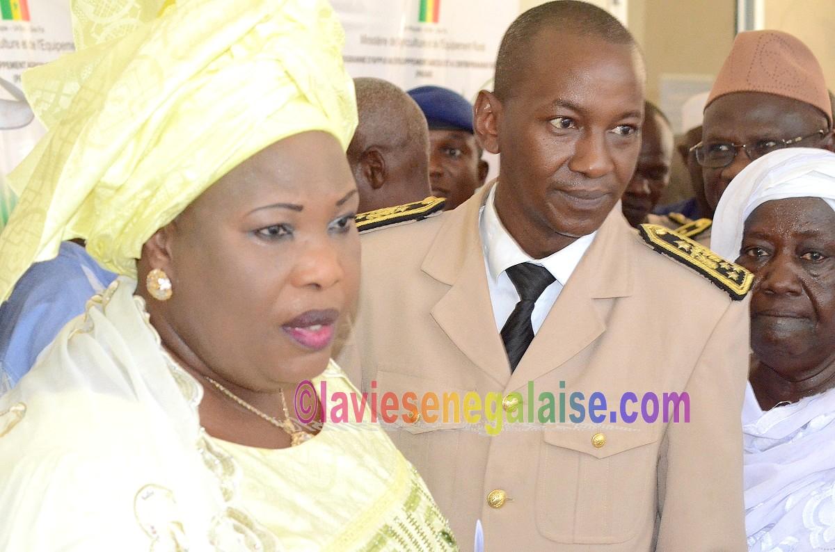 Aminata Mbengue Ndiaye et le Gouverneur de Matam, Atelier Ega Egga (9)