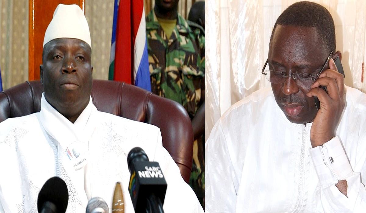 Jammeh et Macky Sall-laviesenegalaise