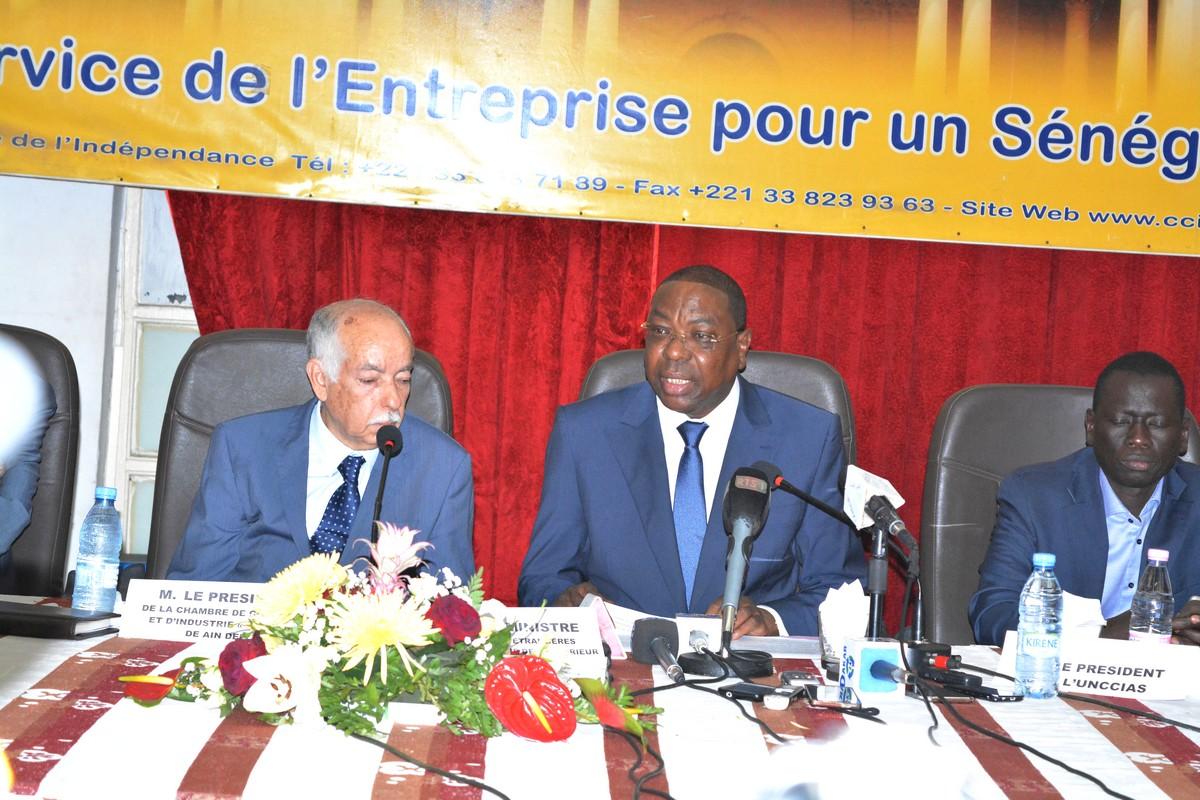 Mankeur Ndiaye -Forum-Senegal-Algerie (1)