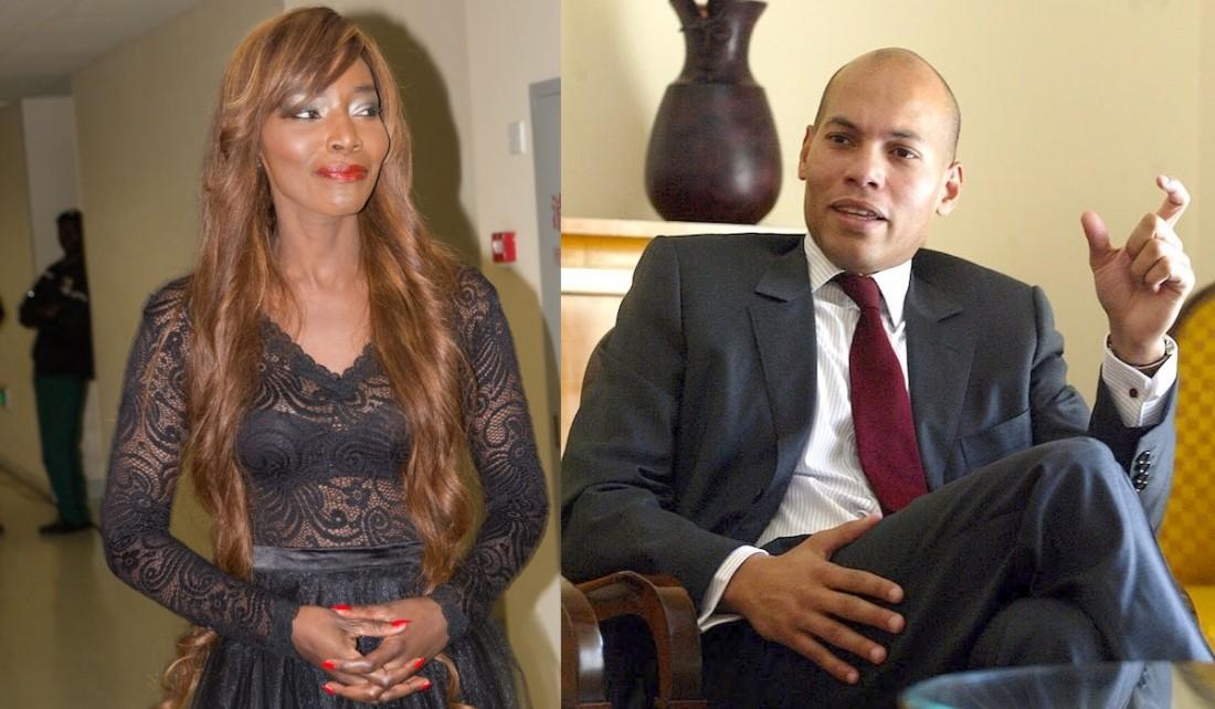 Coumba Gawlo et Karim Wade