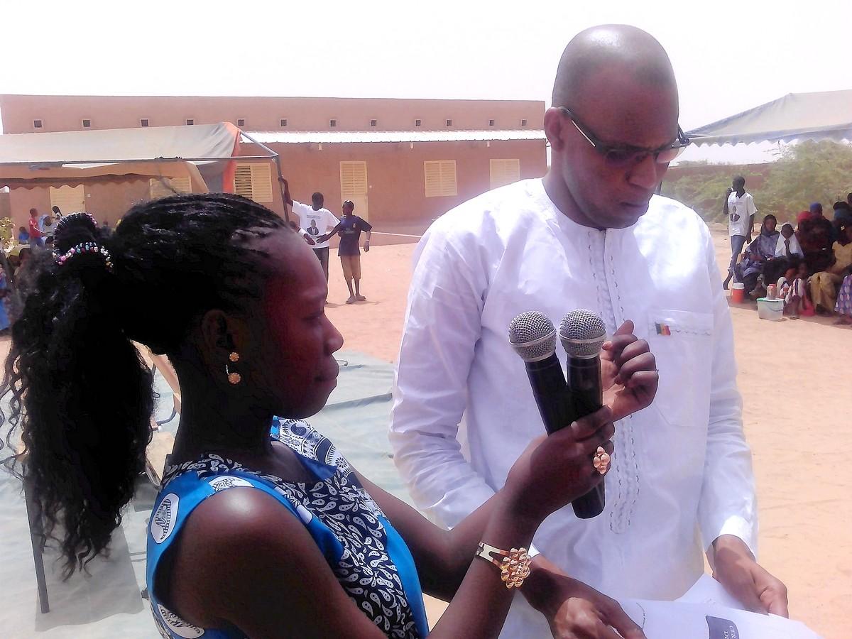 Aliou Ousmane SALL, Maire-adjoint de la commune de Bokidiawé