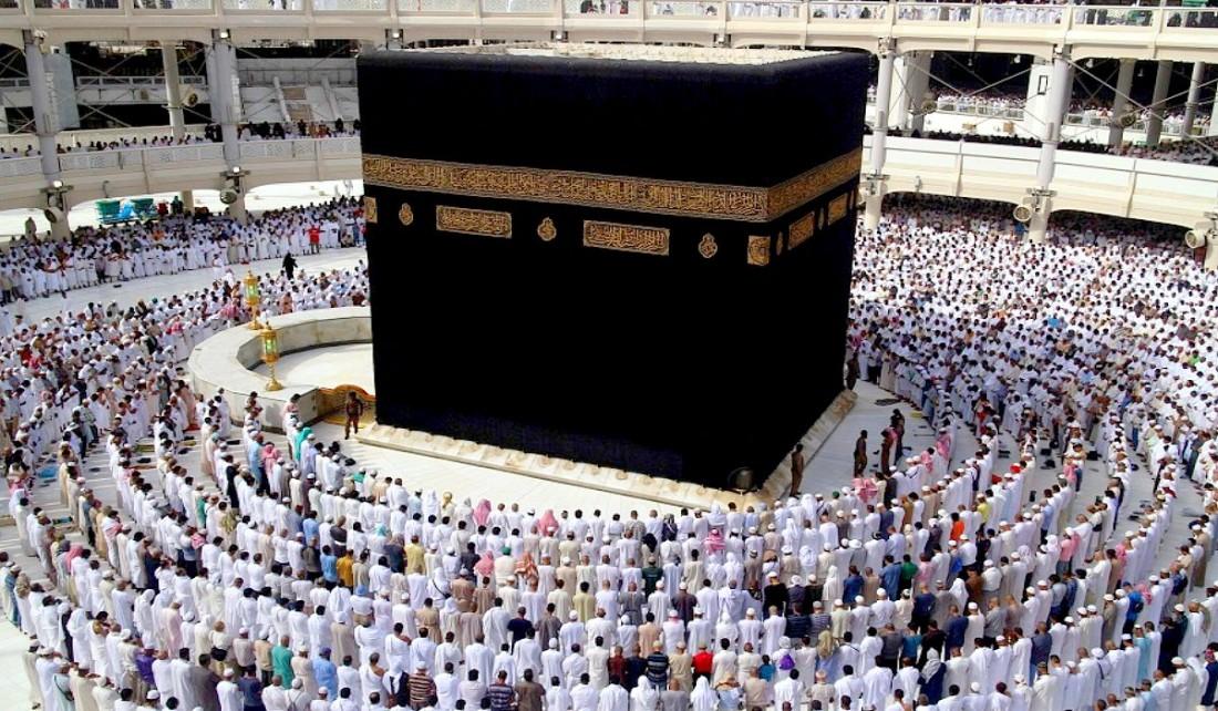 P lerinage la mecque d part du premier vol entre le 25 for Interieur de la kaaba