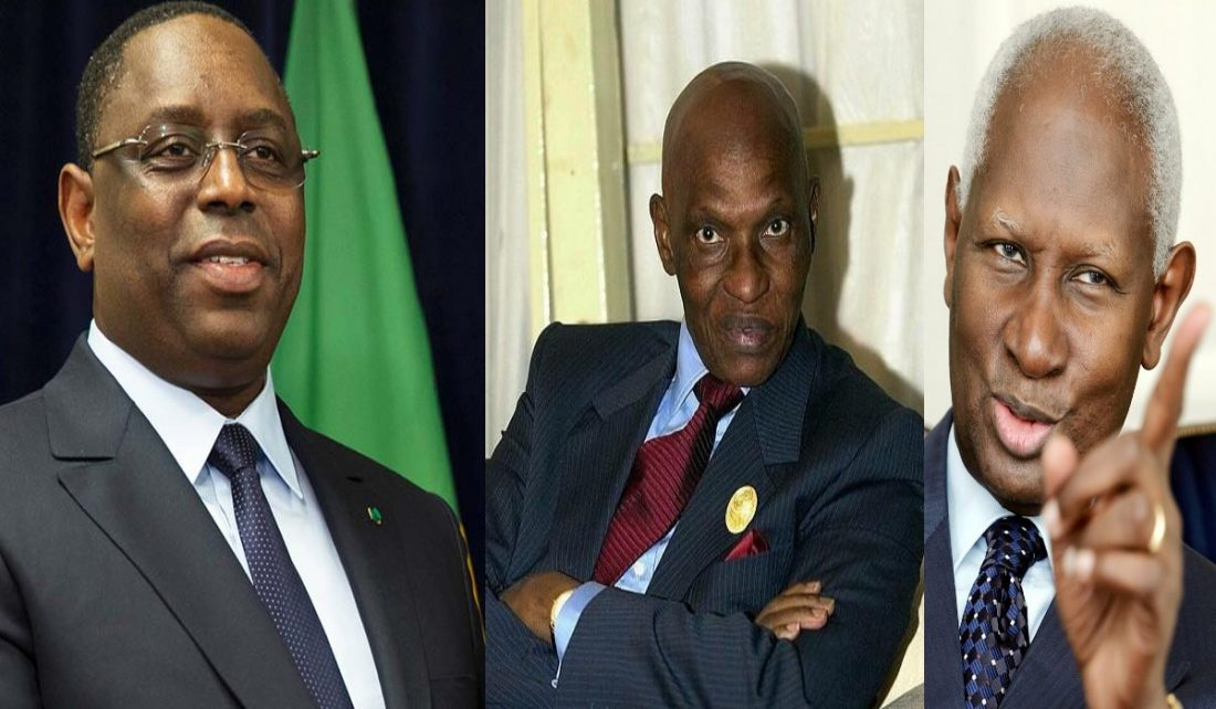 Macky Sall, Abdoulaye Wade, Abdou Diouf