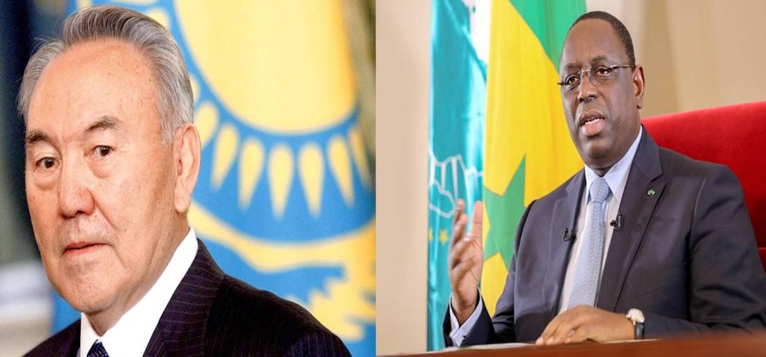 SEM Macky Sall et SEM Nursultan Nazarbayev