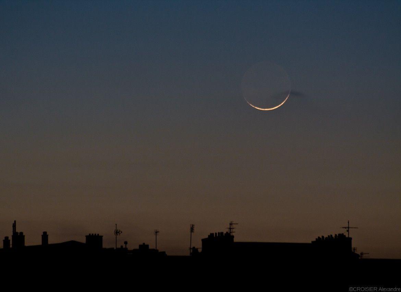 le croissant lunaire