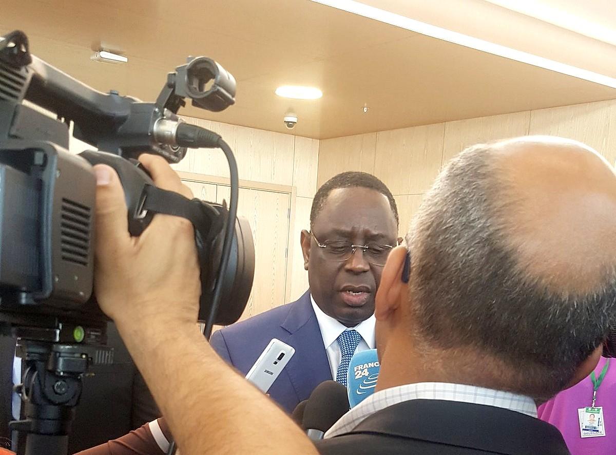 Macky Sall sur France24