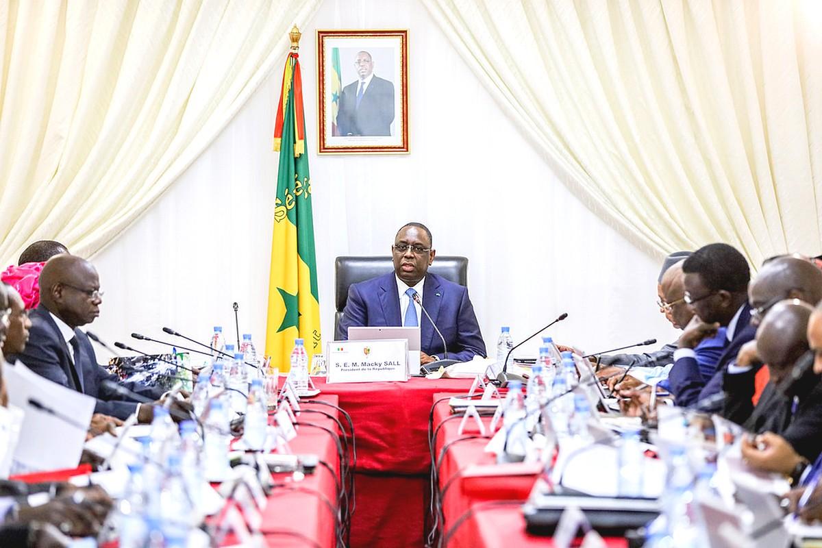 Makcy Sall-Conseil des Ministres en Banlieue Dakar