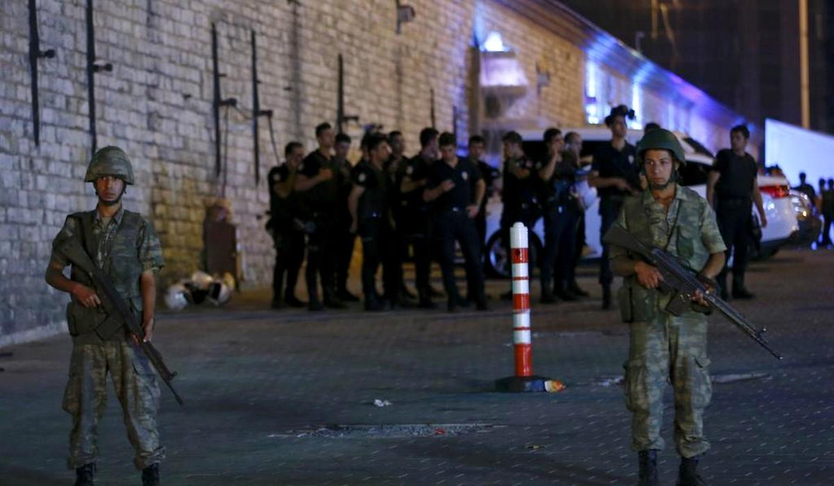 Tentative de coup d'Etat militaire en Turquie