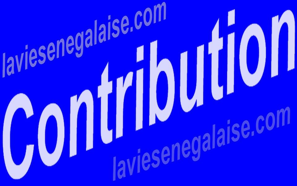 Contribution- laviesenegalaise