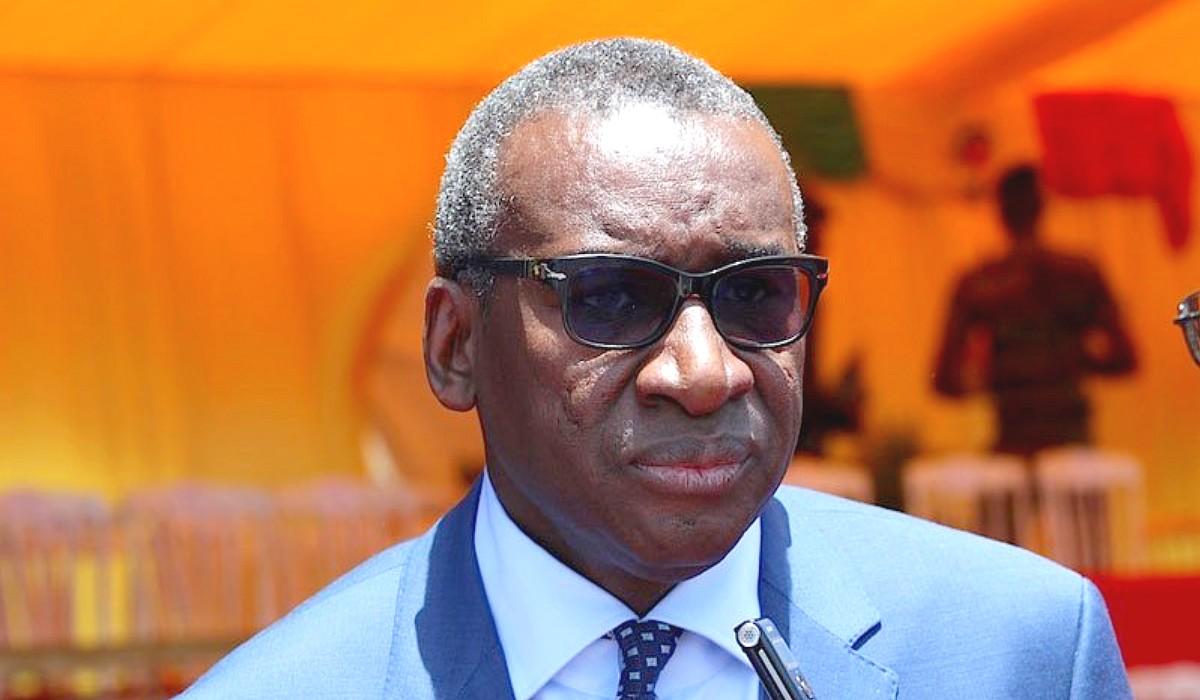 Me Sidiki Kaba-Ministre de la justice garde des Sceaux