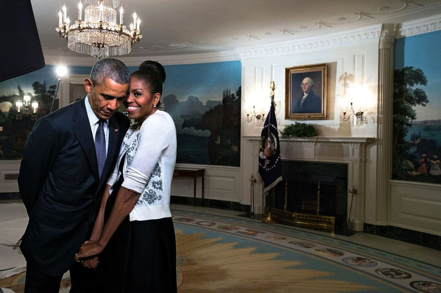 Adieu la maison blanche de barack et michelle obama la for Interieur de la maison blanche