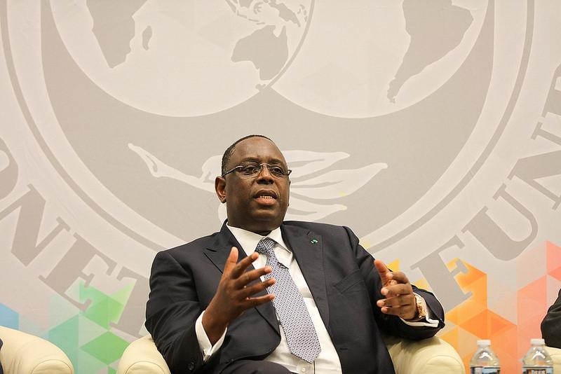 Macky Sall au Fmi