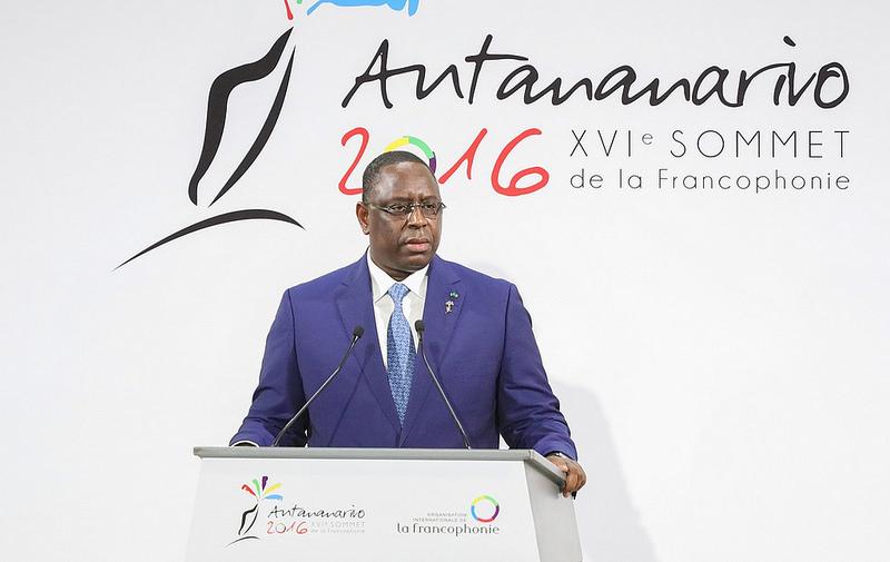"""Macky Sall : """"La Francophonie restera attachée à la préservation de la Cour pénale internationale"""""""