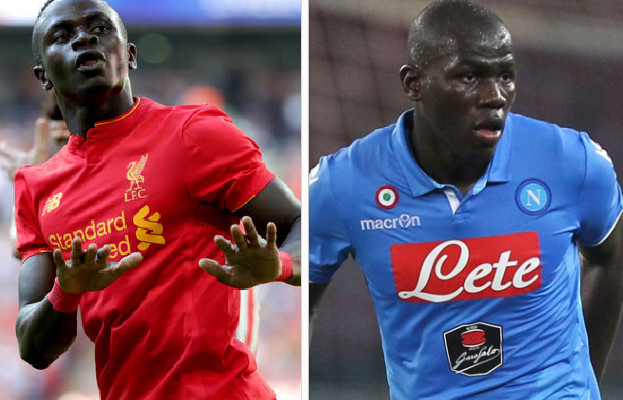 france football koulibaly et sadio man dans l 39 quipe type africaine 2016 la vie s n galaise. Black Bedroom Furniture Sets. Home Design Ideas