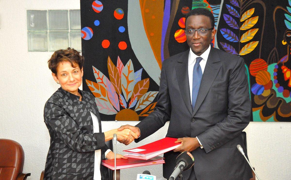 Amadou Ba et Louise CORD