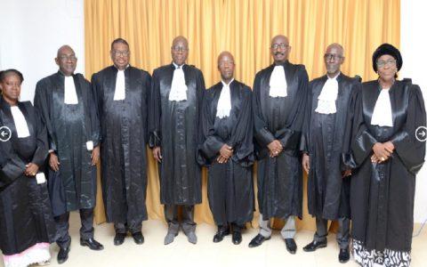 Les sages du Conseil Constitutionnel