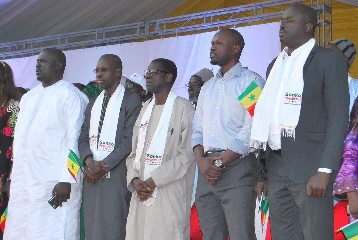 Ousmane SONKO, PASTEF leader, Opposition