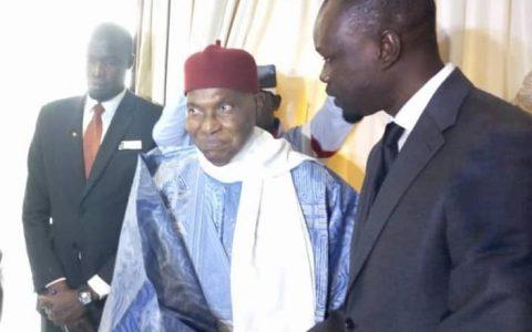 Abdoulaye Wade et Ousmane Sonko