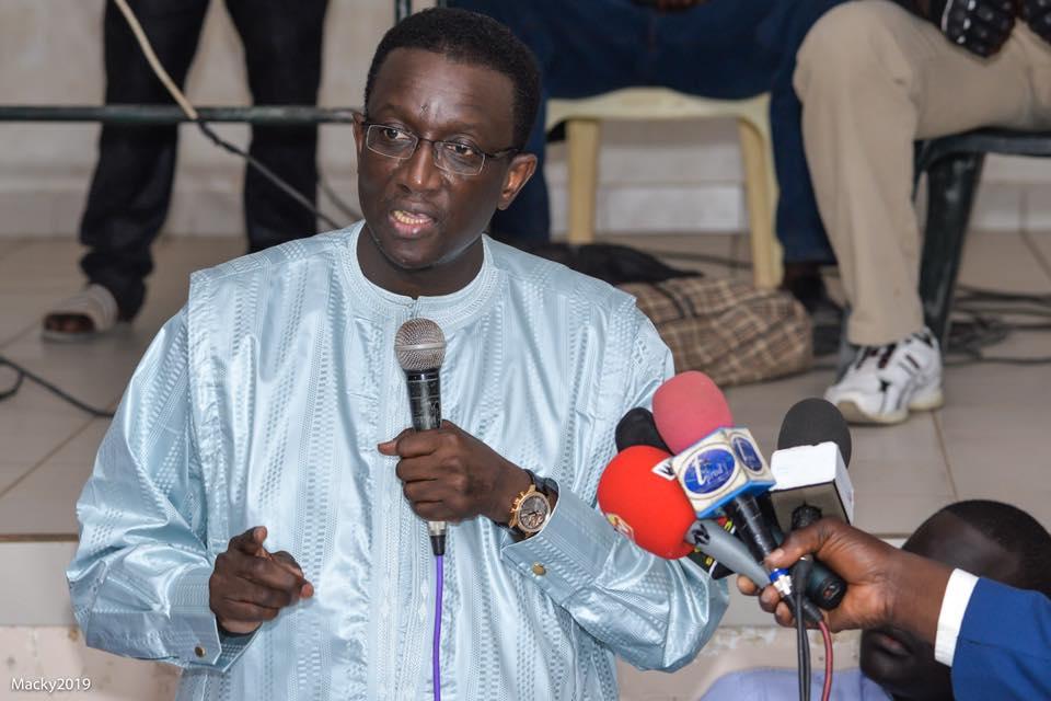 Destitution de Amadou Ba par la coordination de l'APR des Parcelles Assainies