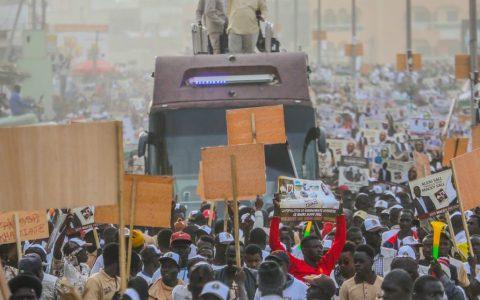Macky Sall, Campagne Politique