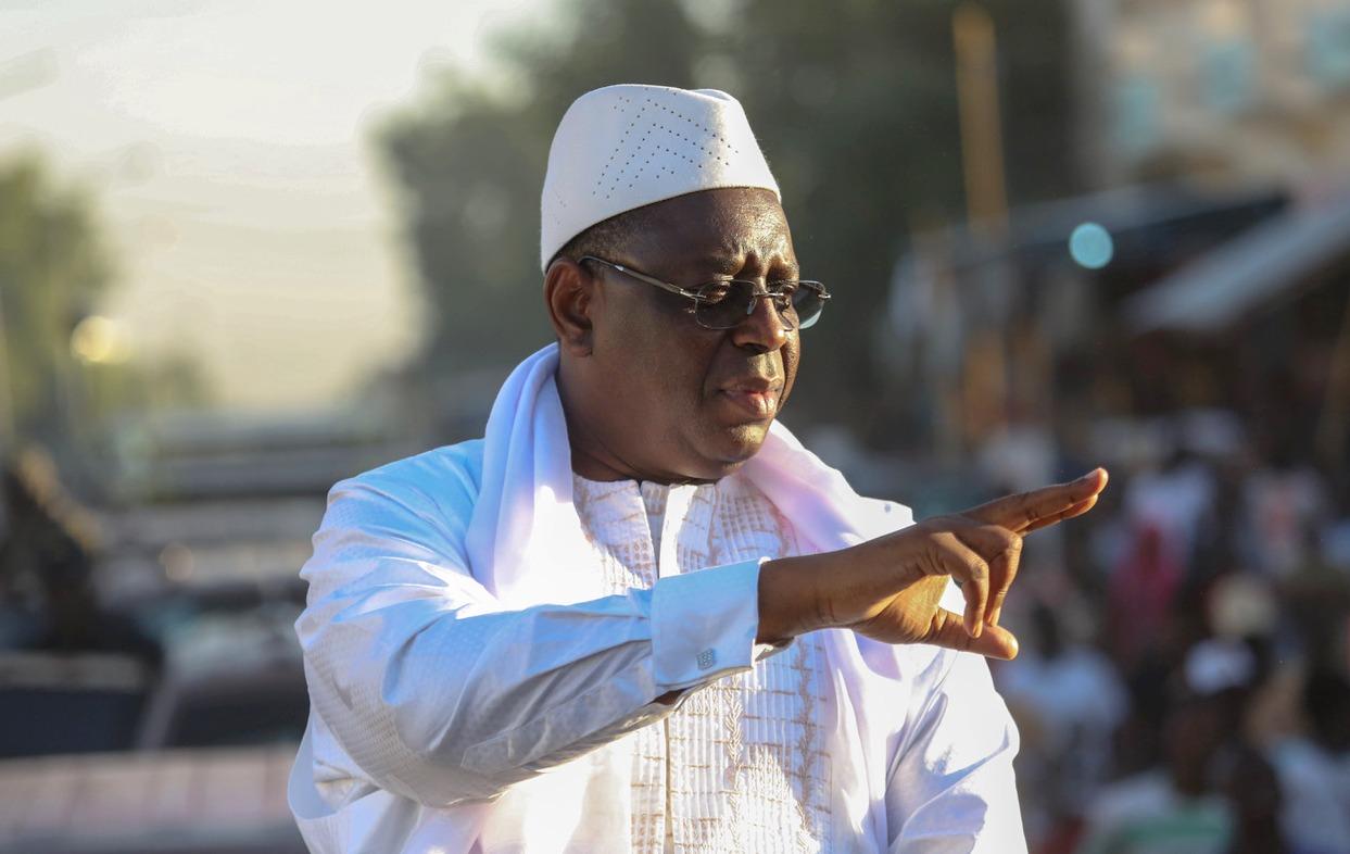 Macky Sall en Campagne