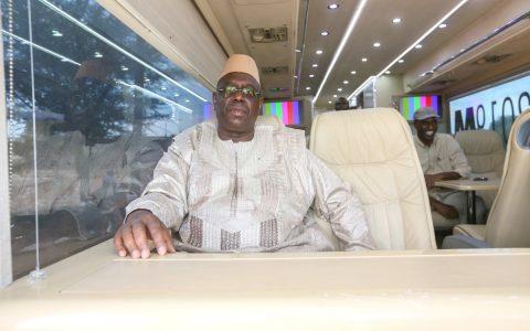 Macky Sall en route vers Matam
