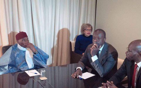 Ousmane Sonko et Abdoulaye Wade