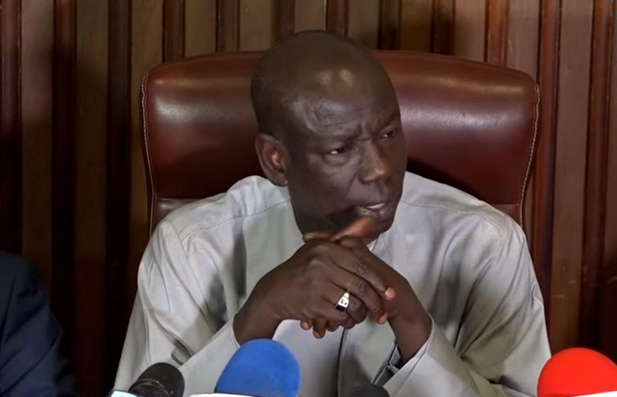 Abdoulaye Wilane - porte-parole du Parti socialiste