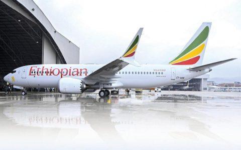 Avion boeing 737 Max Ethiopian Airlines