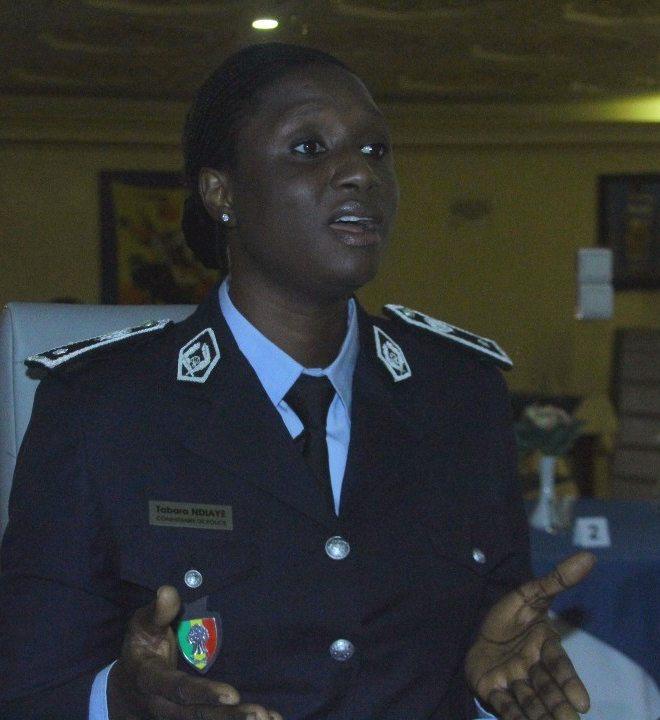TABARA NDIAYE - Commissaire de Police