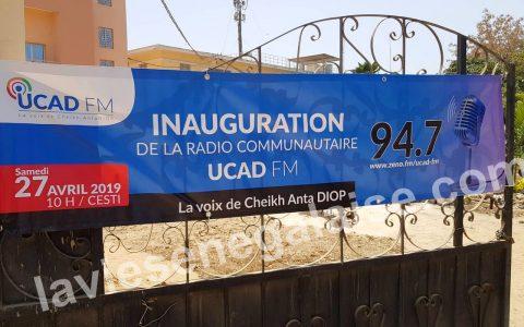 Inauguration de la Radio Ucad Fm