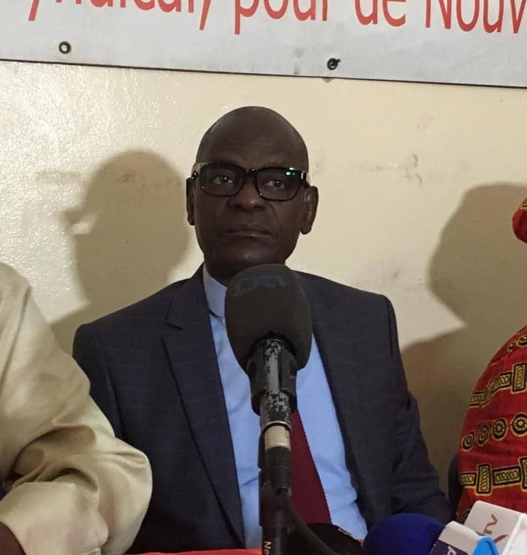 Cheikh Diop de la CNTS-FC lance Union fighting