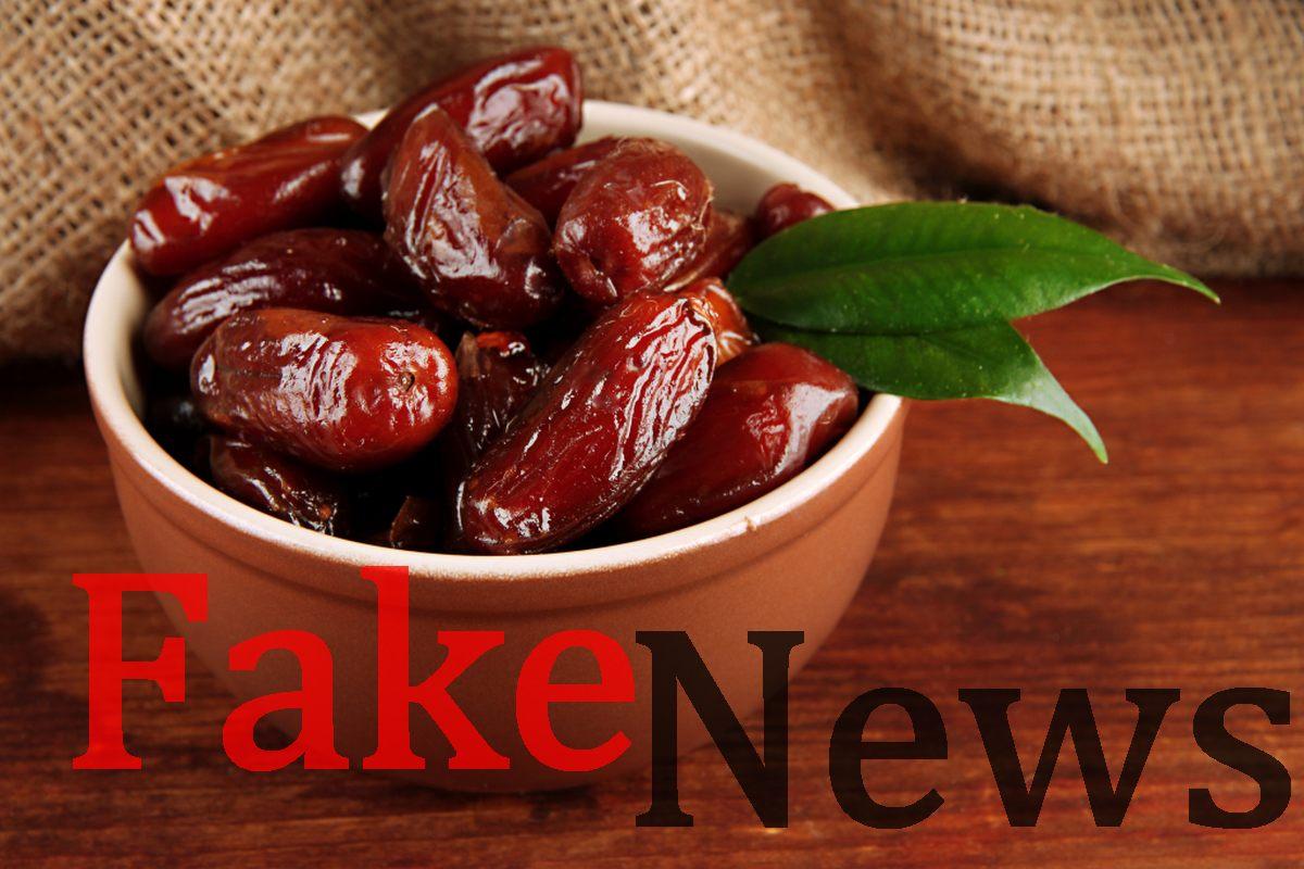 Dattes ramadan, Fake News, Fact Cheiking Djiby DEM