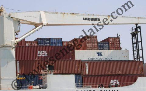 Le Port autonome de Dakar