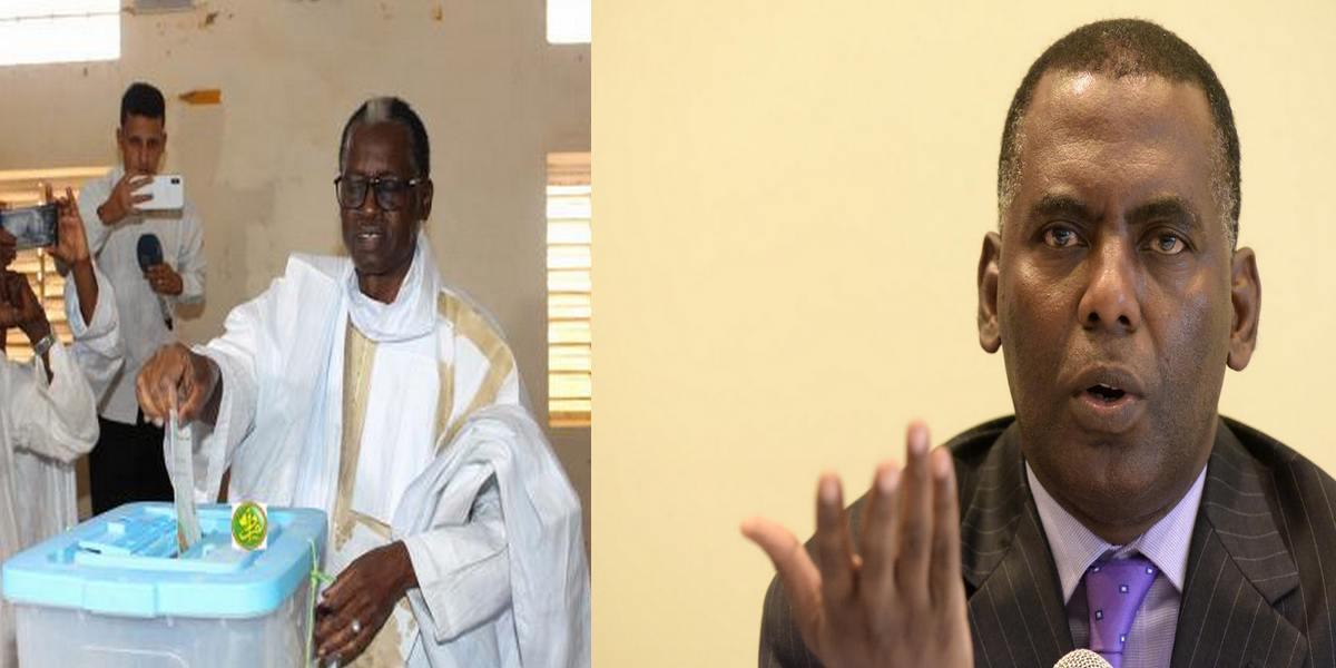 Biram Dah Abeid et Kane Hamidou Baba