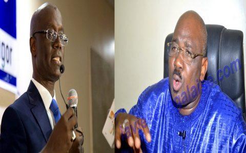 Farba Ngom et Thierno Alassane Sall