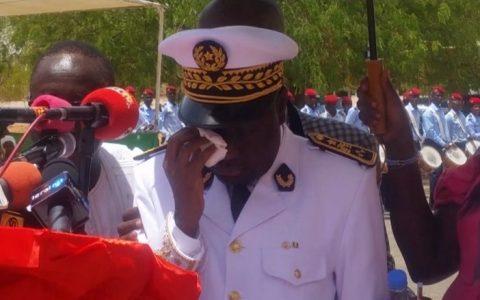 Gouverneur de Louga en Larmes
