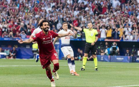Mohamed Salah Butteur Liverpol Vs Tottenham