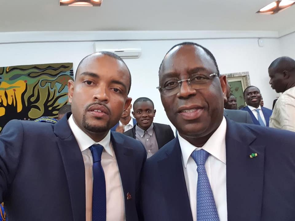 Moussa Sow Cojer et Macky Sall