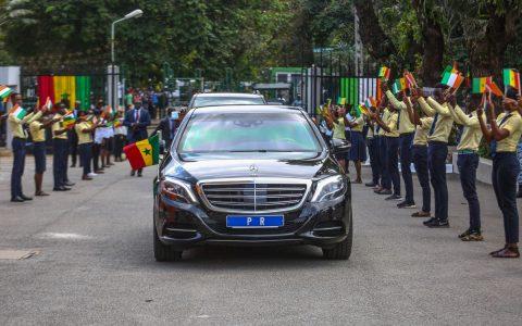 Affaire de la limousine de Macky Sall qui a pris feu