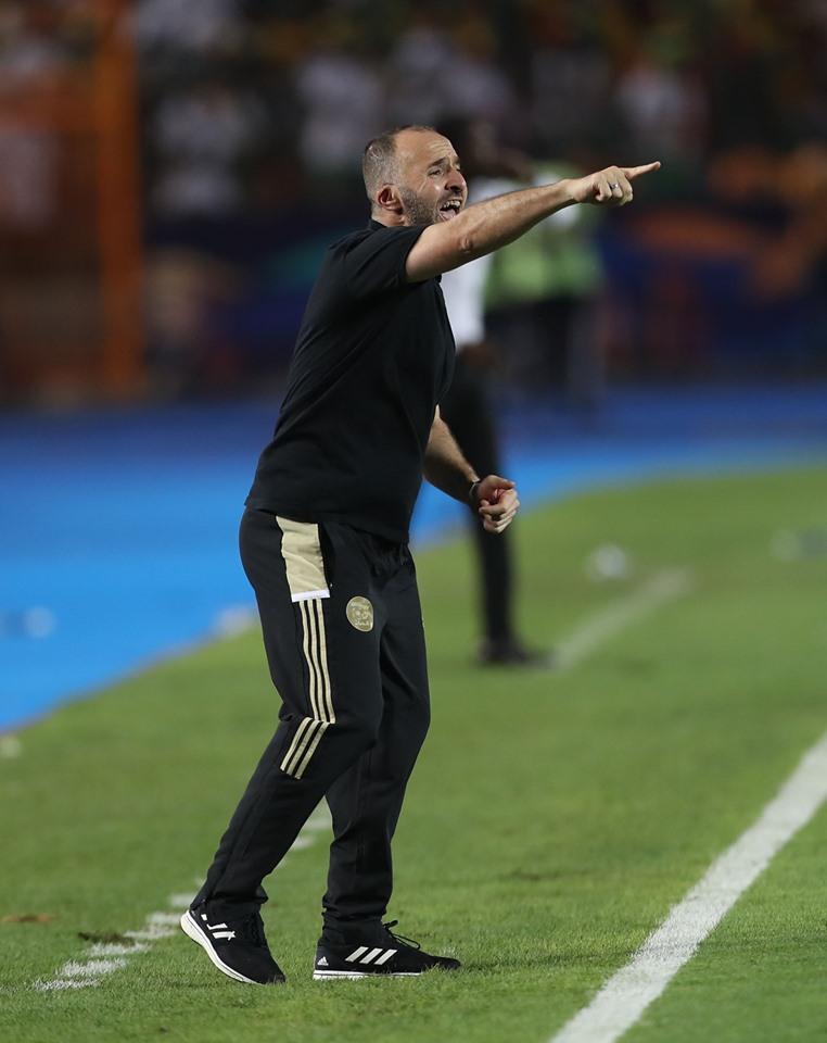 Djamel Belmadi sélectionneur de l'Algérie