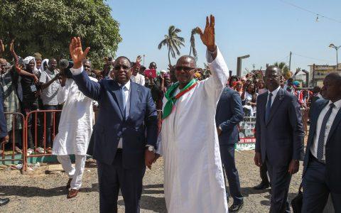 Macky Sall et Ousmane Tanor Dieng