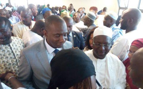 Passation de service entre Abdou Karim Sall et le nouveau Dg de l'ARTP - Abdoul Ly