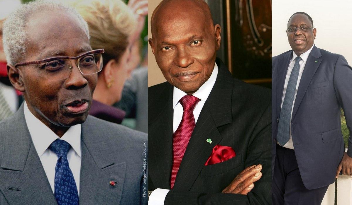 Senghor - Abdoulaye Wade - Macky Sall