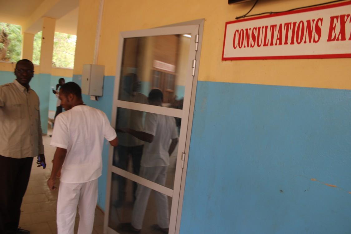 conditions d'accueil à l'hôpital de Ourossogui