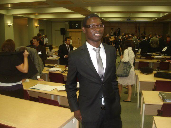Alioune GUEYE Professeur de Droit public