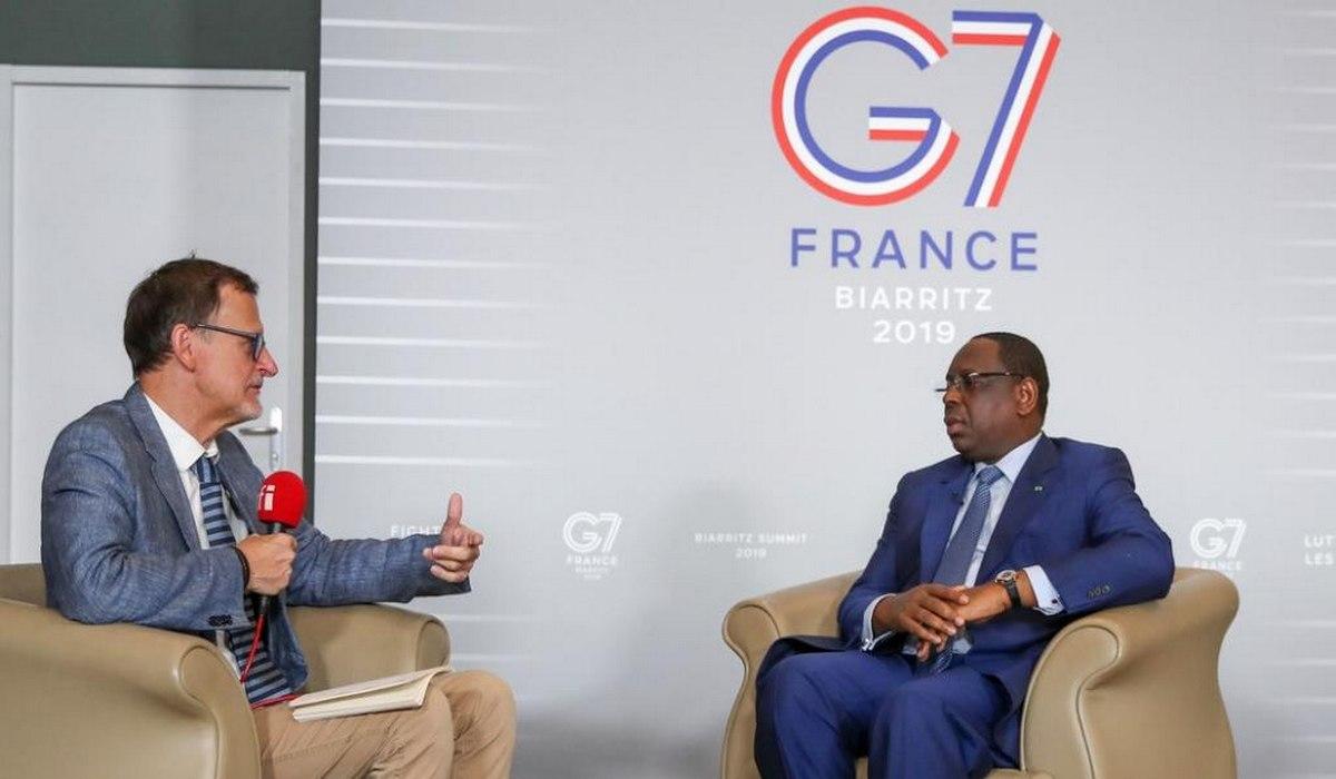 Entretien de Macky Sall avec RFI